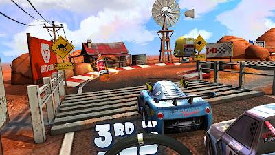 Mini Motor Racing X Game Screenshot 3