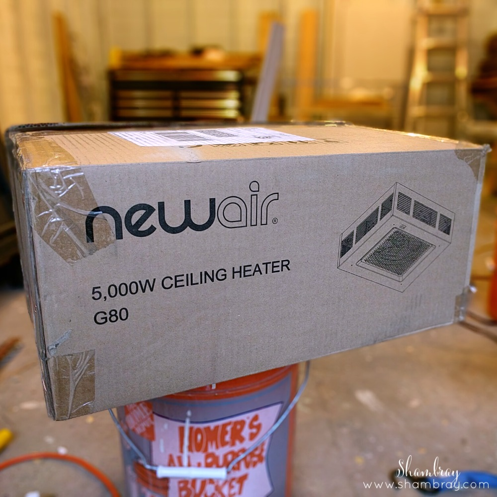 shambray review of the newair g80 garage heater. Black Bedroom Furniture Sets. Home Design Ideas