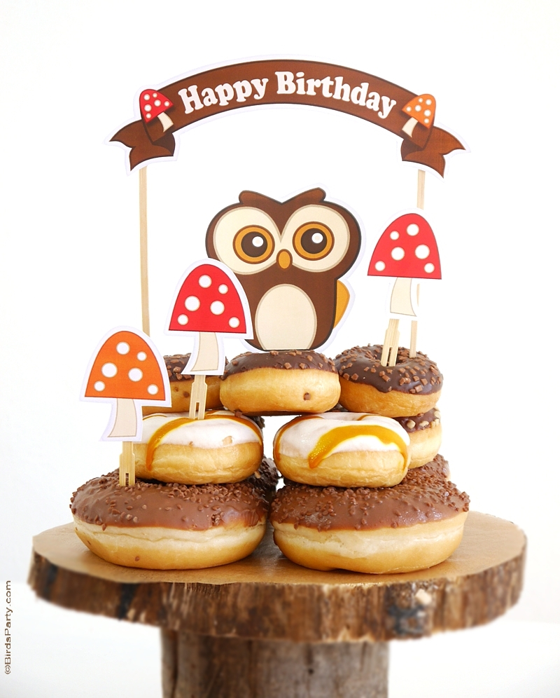 Woodland Birthday Party Ideas & Video