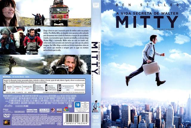 Capa DVD A Vida Secreta de Walter Mitty