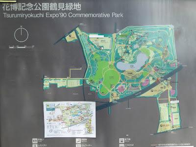 花博記念公園鶴見緑地のMAP
