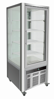 Elanpro Four side open display cabinets for Patisseries