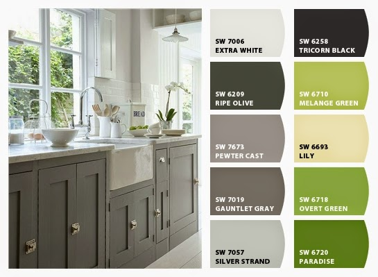 My Sweet Savannah Favorite Green Kitchens With Paint