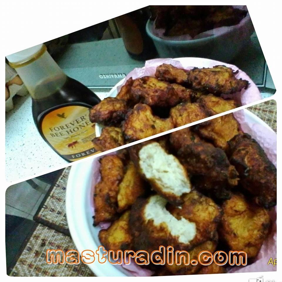 Resepi Homemade Nugget Ayam Tempura Bersalut Forever Bee Honey, khasiat dan kelebihan Forever Bee Honey, resepi homemade mayonis