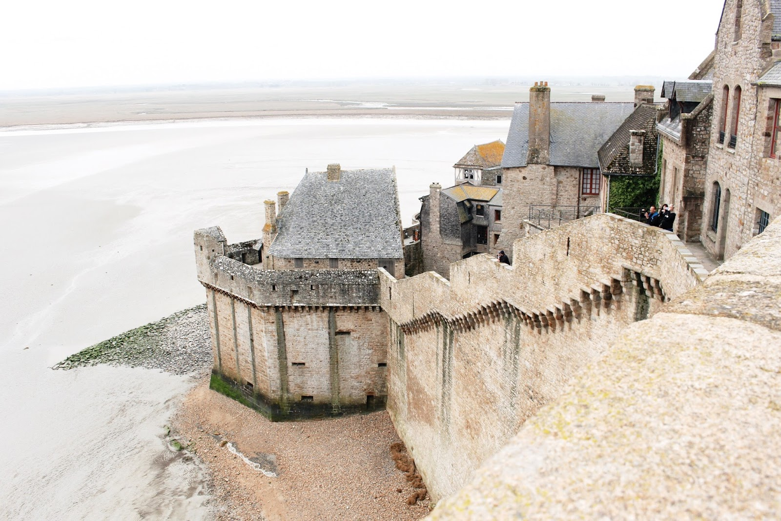 Architecture buildings and views Mont Saint Michel