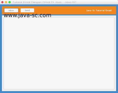 Cara Mengambil Kotak Masuk Pesan Gmail di Java Swing 1