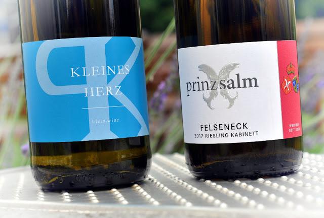 Riesling vom Weingut Klein und Prinz Salm