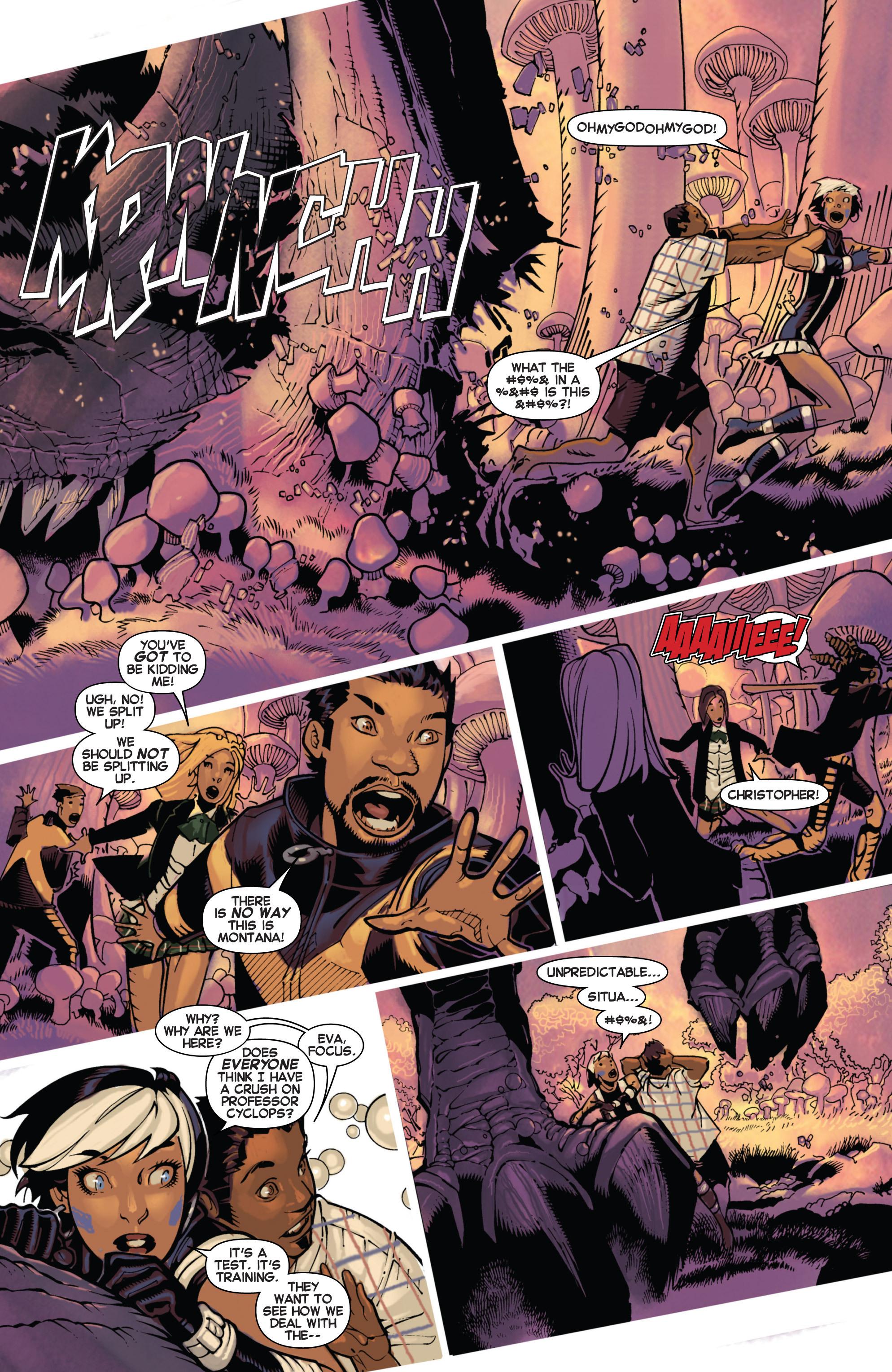 Read online Uncanny X-Men (2013) comic -  Issue #17 - 7