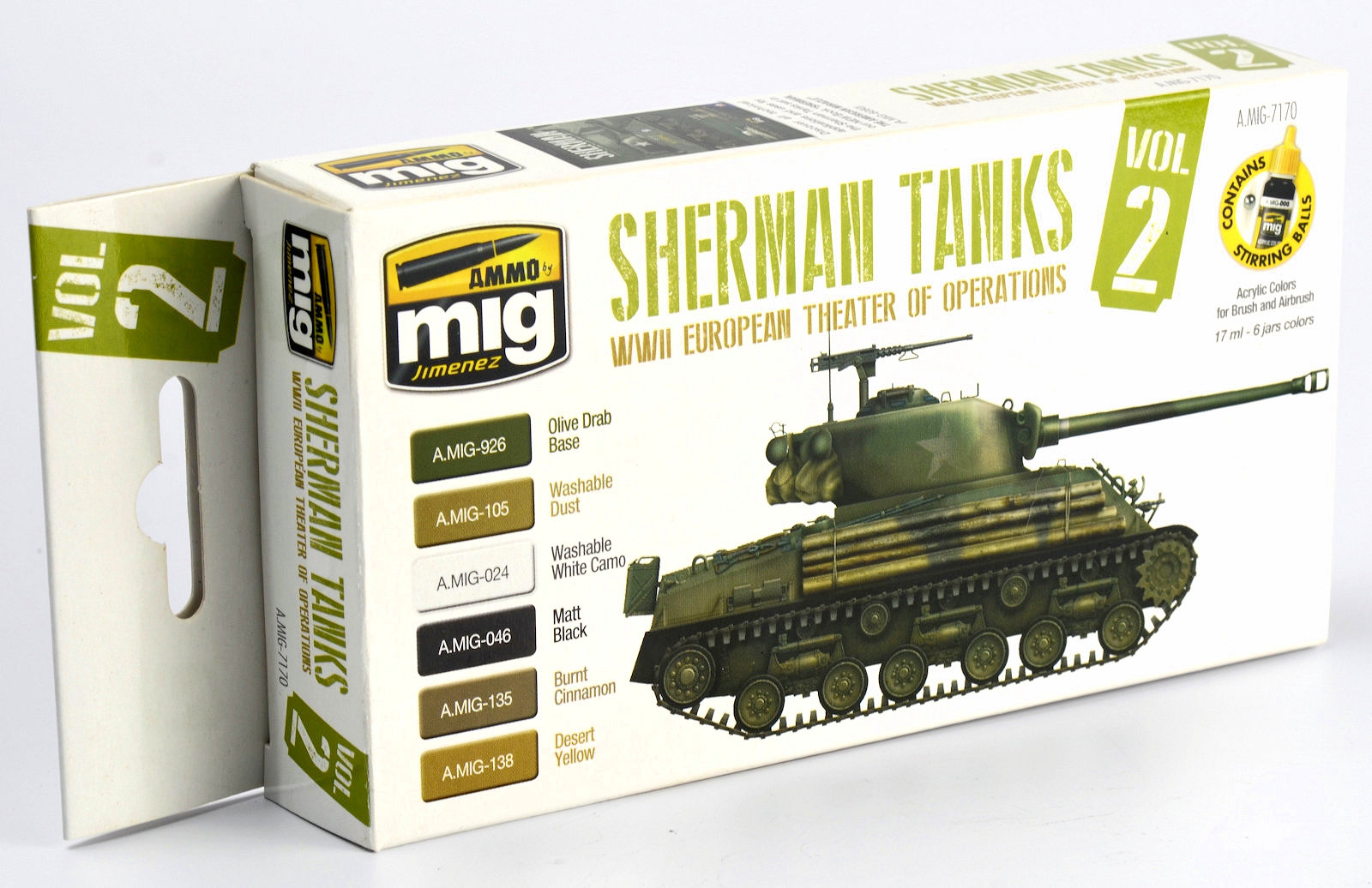 The Modelling News: Ammos new paint set of Sherman Colours #2