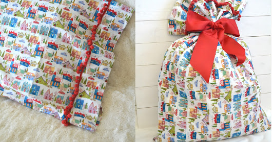 Christmas Fabric Bundle Giveaway and Super Easy Pillowcase Tutorial