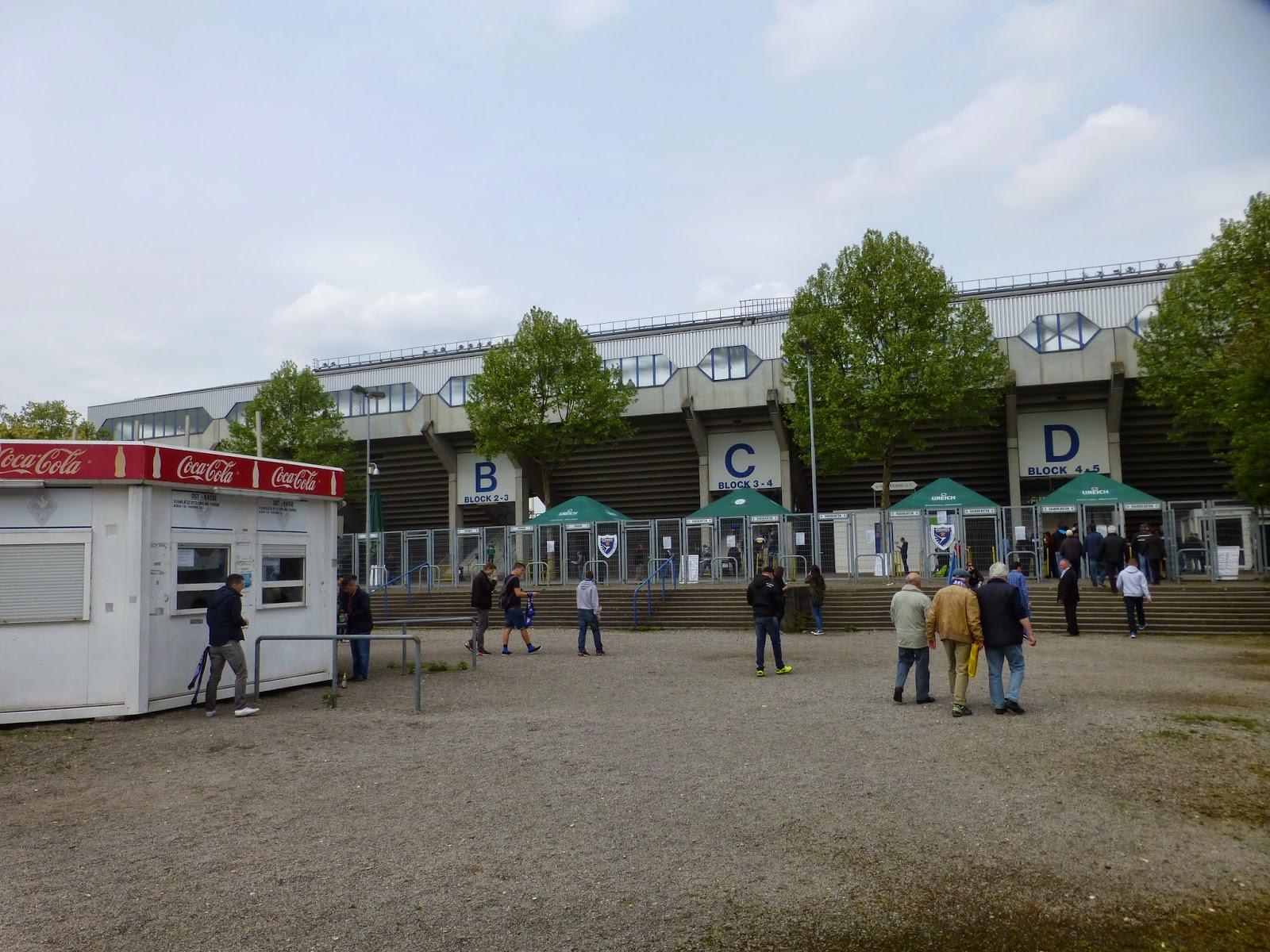 Extreme Football Tourism: FR GERMANY: SV Waldhof Mannheim
