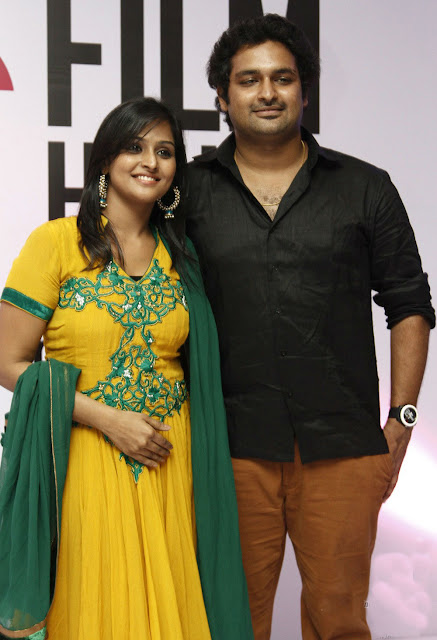 Remya Nambeesan with brother Rahul