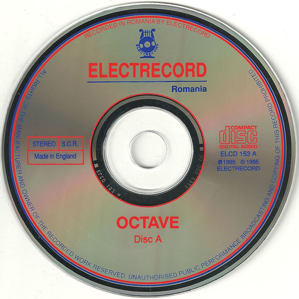 Octave - Trilogy 1995 Double CD - Octavian Teodorescu