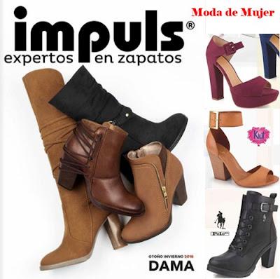 impuls dama calzado otoño invierno