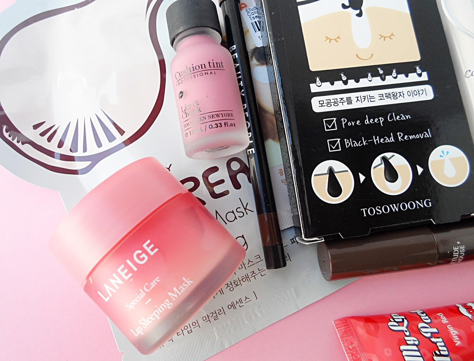 yesstyle korean beauty box blogger review liz breygel asian makeup skincare