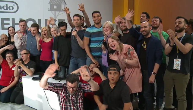 Nintendo Treehouse Live E3 2015 final day closing picture