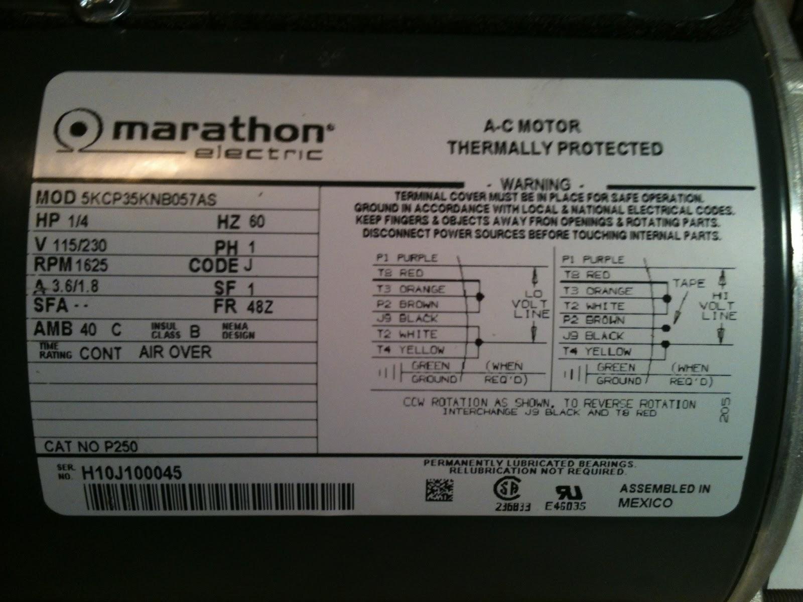 Leeson 3 Hp Motor Wiring Diagram Dishwasher Diagrams Whirlpool Ac Nameplate Data ~ Kit Picture