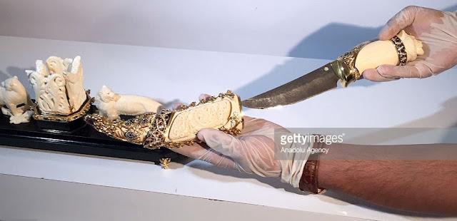 gaddafi dagger Istanbul turkey