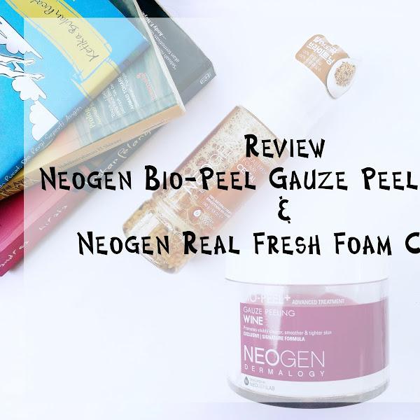 Review Neogen Bio-Peel Gauze Peeling Wine & Neogen Real Fresh Foam Cereal