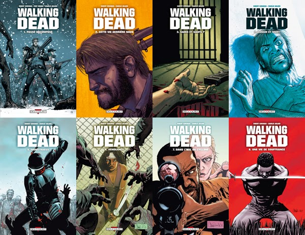 The Walking Dead comic book série tv webserie jeu video kirkman tony moore zombie rick spin off saison tomes 22 1 2 3 4 5 octobre 2014 andréa survival horror survie préquelle darryl rick glen