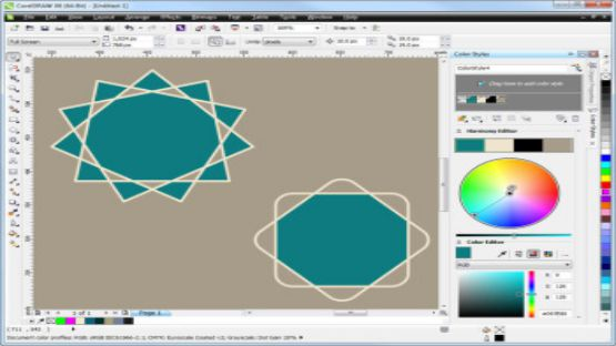 Corel Draw Graphics Suite X6 screenshot 3