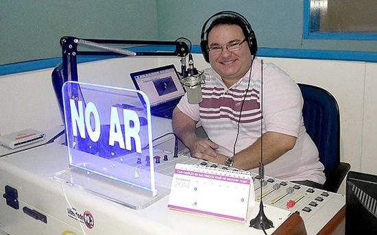 Gleydson Carvalho, na cidade de Camocim