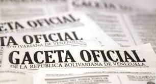 DECRETO EXTRAORDINARIO GACETA OFICIAL Nº6.258 PUBLICA DESIGNACIONES DE NUEVOS MINISTROS DEL PODER  POPULAR