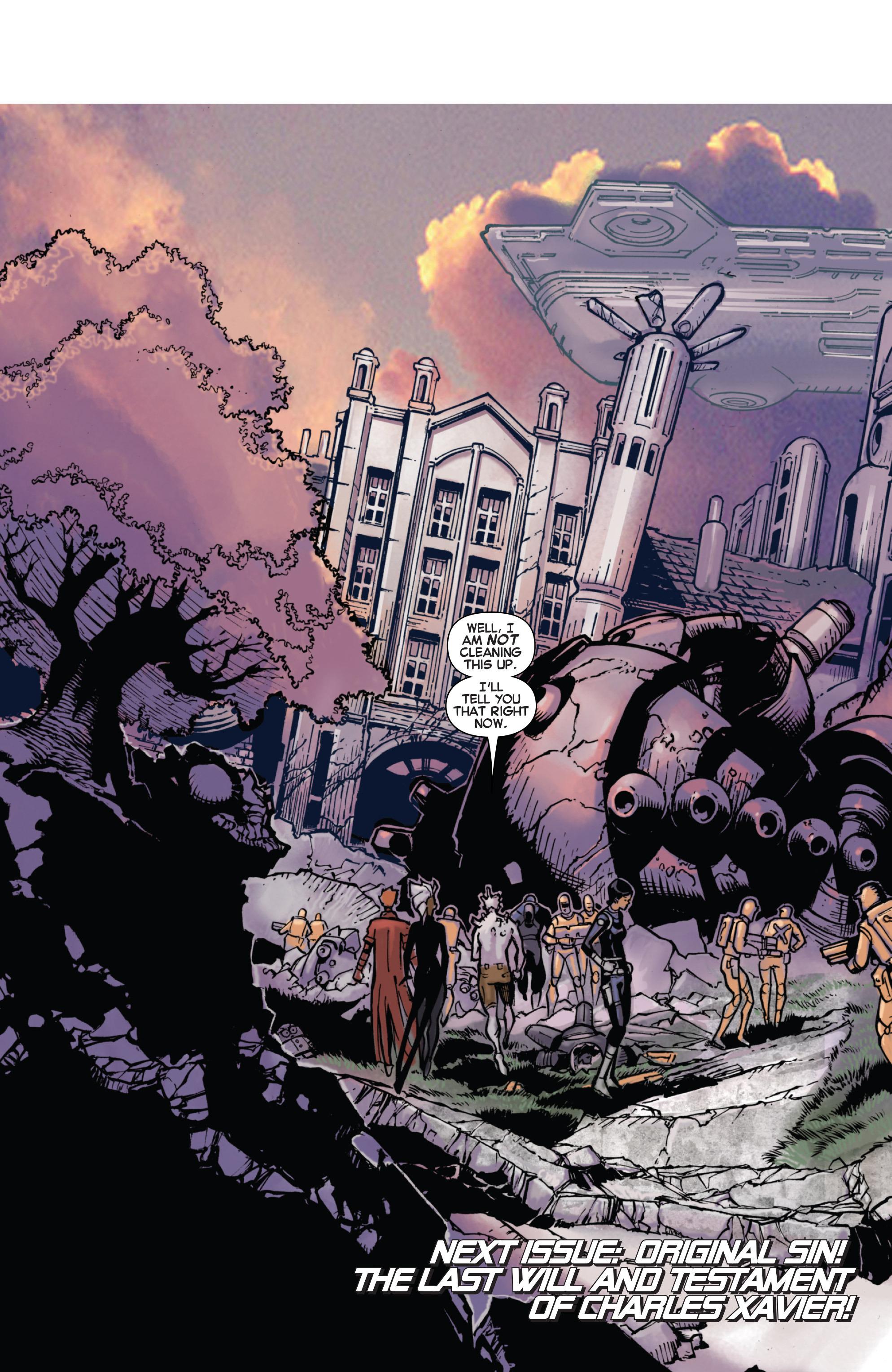 Read online Uncanny X-Men (2013) comic -  Issue #22 - 20