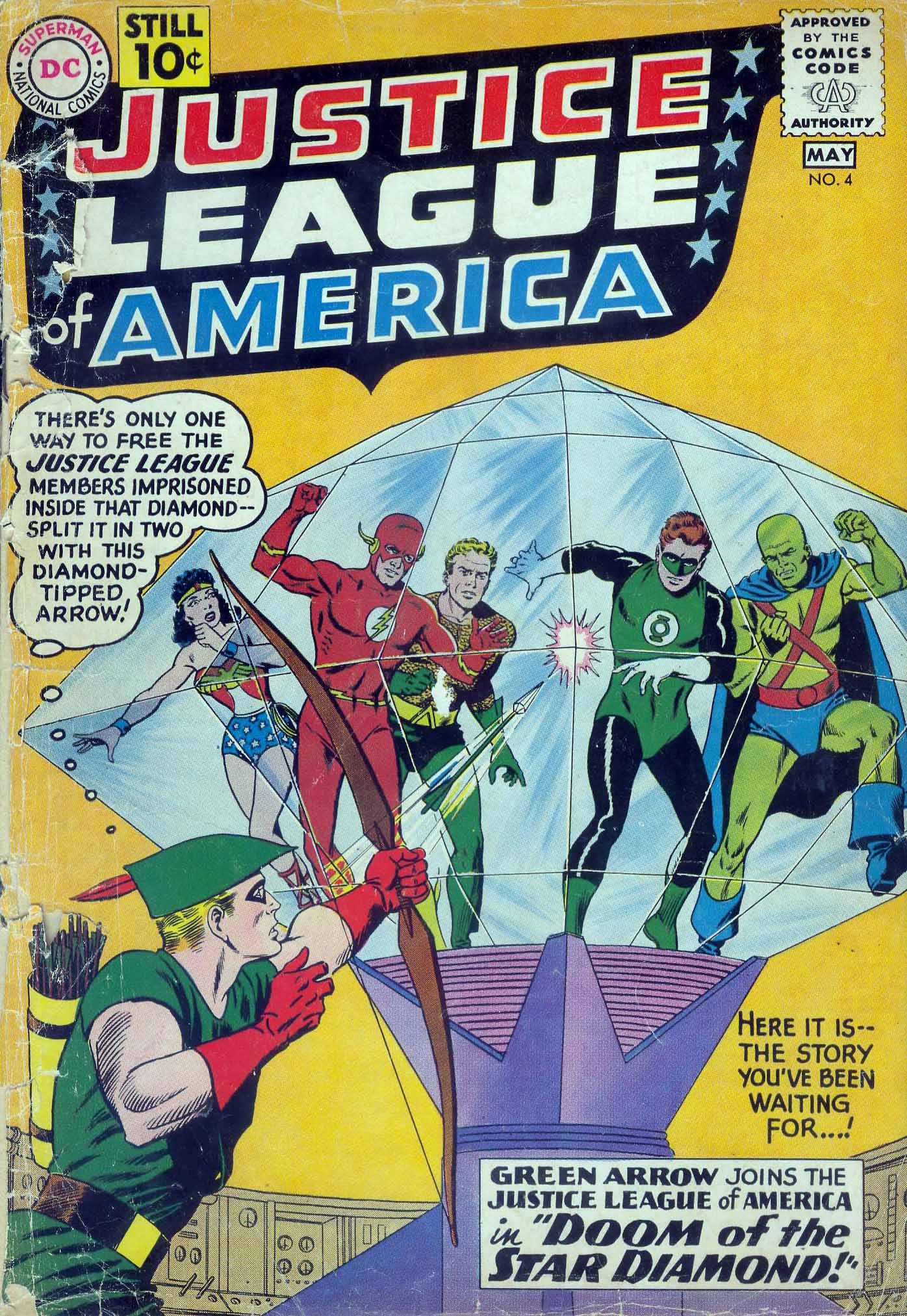 Justice League of America (1960) 4 Page 1