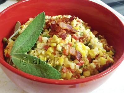 Confetti Corn and Bacon