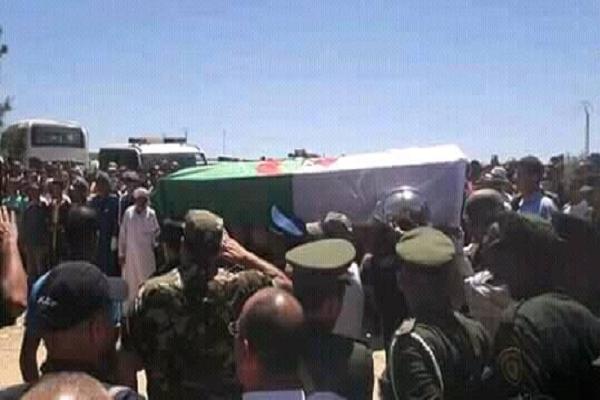 تشييع جنازة شهداء الواجب الوطني بعين مران و الهرانفة