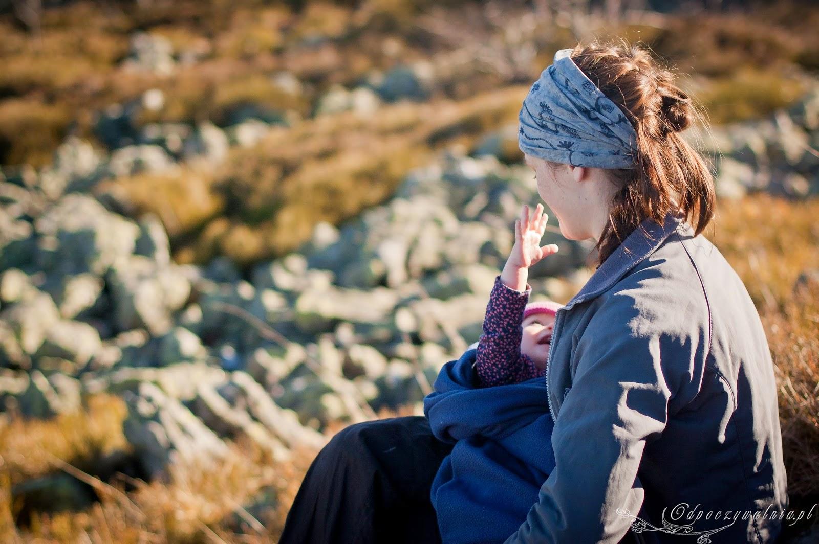 góry z małym dzieckiem, wycieczka z niemowlakiem