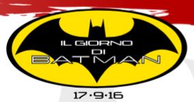 17 settembre 2016: Batman Day con Manthomex e Pasquale Qualano!