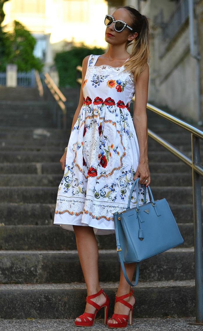 dolce gabbana inspired dress
