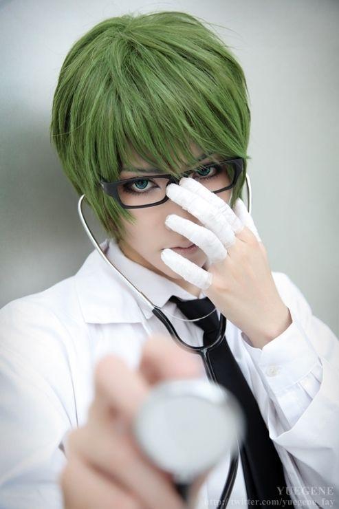 Jika Anda Tertarik Juga Bisa Jadi Cosplayer Midorima Shintaro Dengan Tetap Memperhatikan Ciri Khas Yang Dimiliki Dalam Seri Anime Kuroko No
