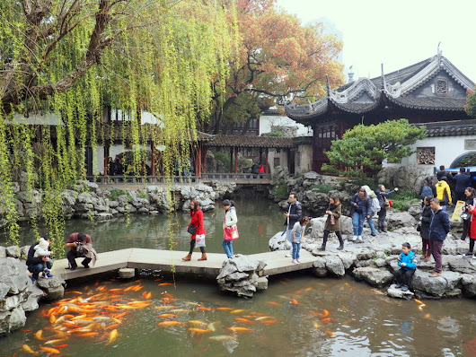 Shanghai Yu Garden and Jing'an Sculpture Park