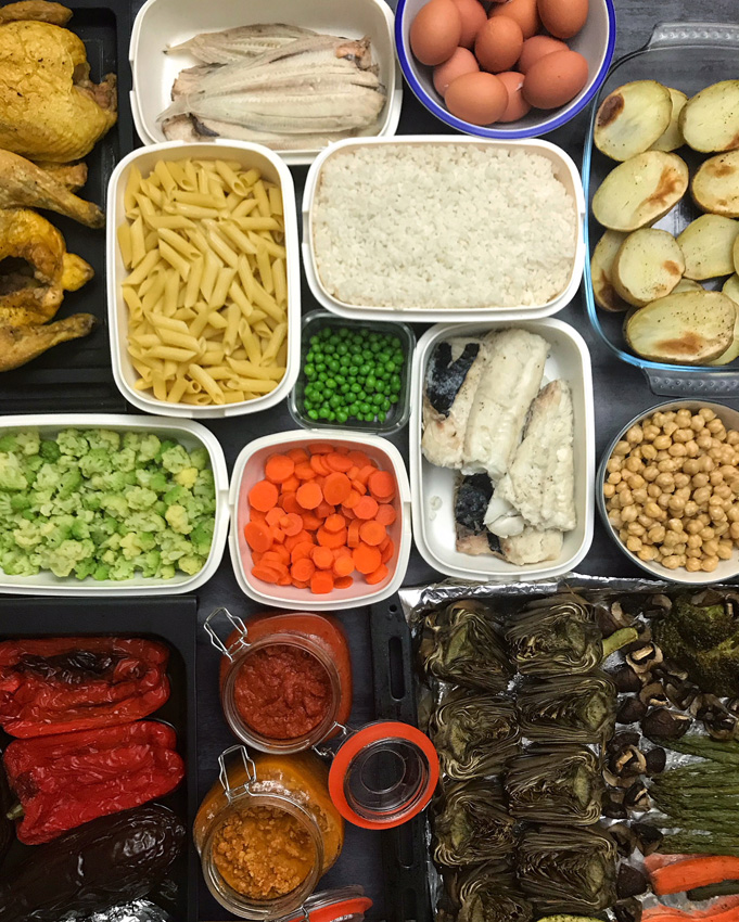 Las recetas de mj for Comida saludable para toda la semana