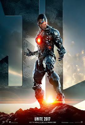 Justice League Character Movie Poster Set - Cyborg