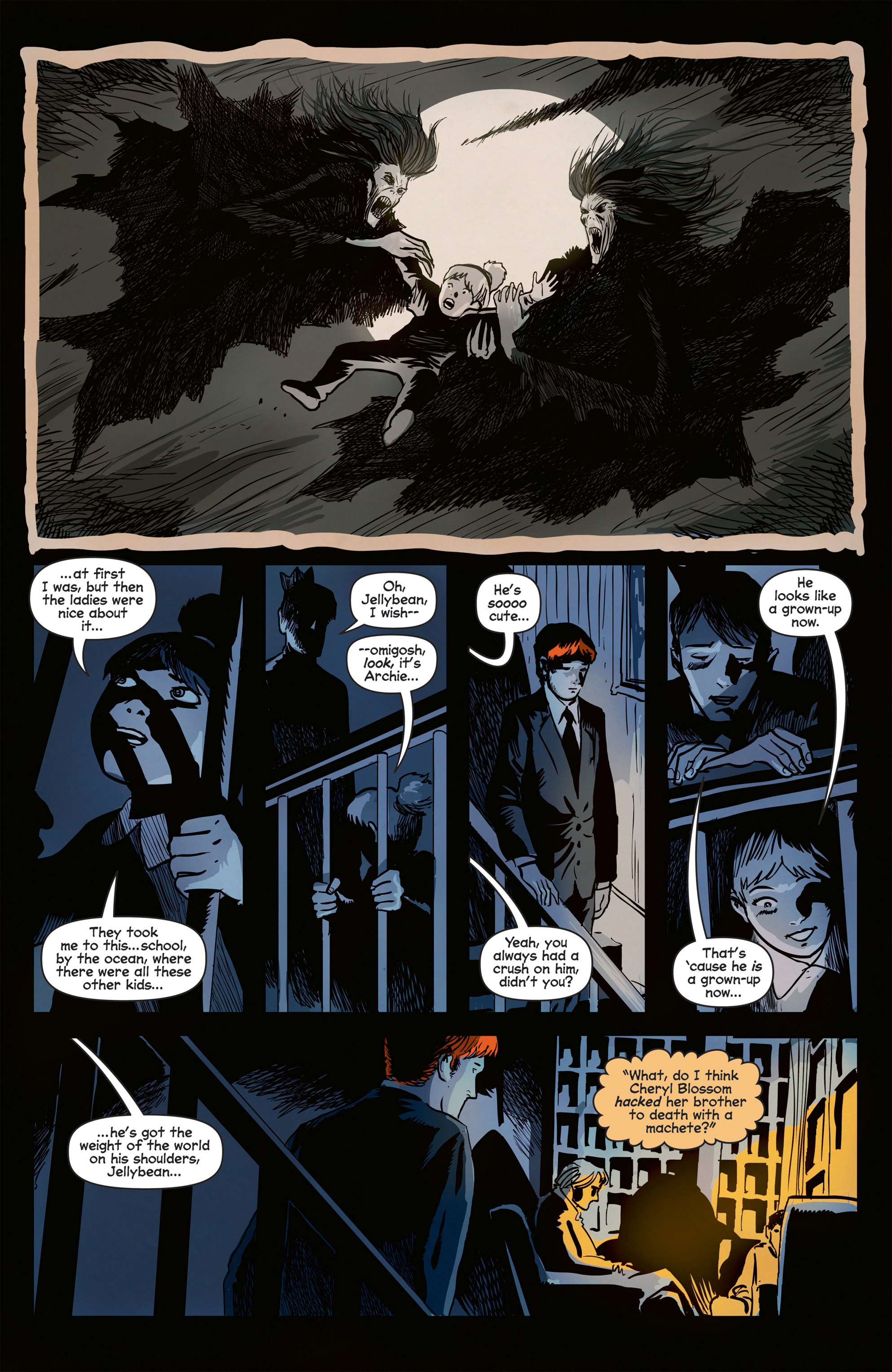 Read online Afterlife with Archie comic -  Issue #8 - 26