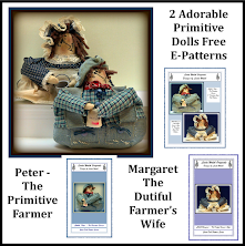 Peter The Primitive Farmer & Margaret The Dutiful Farmers Wife Free <br>E-Patterns