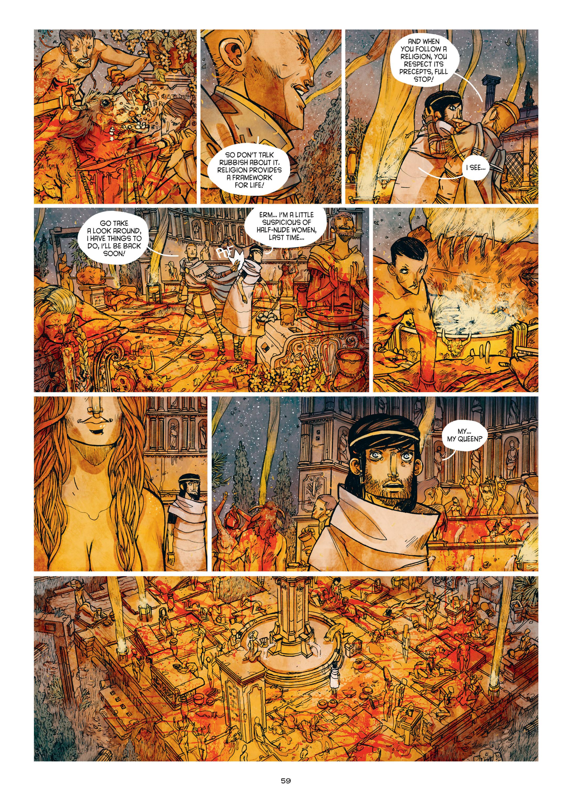 Read online Adrastée comic -  Issue #1 - 60
