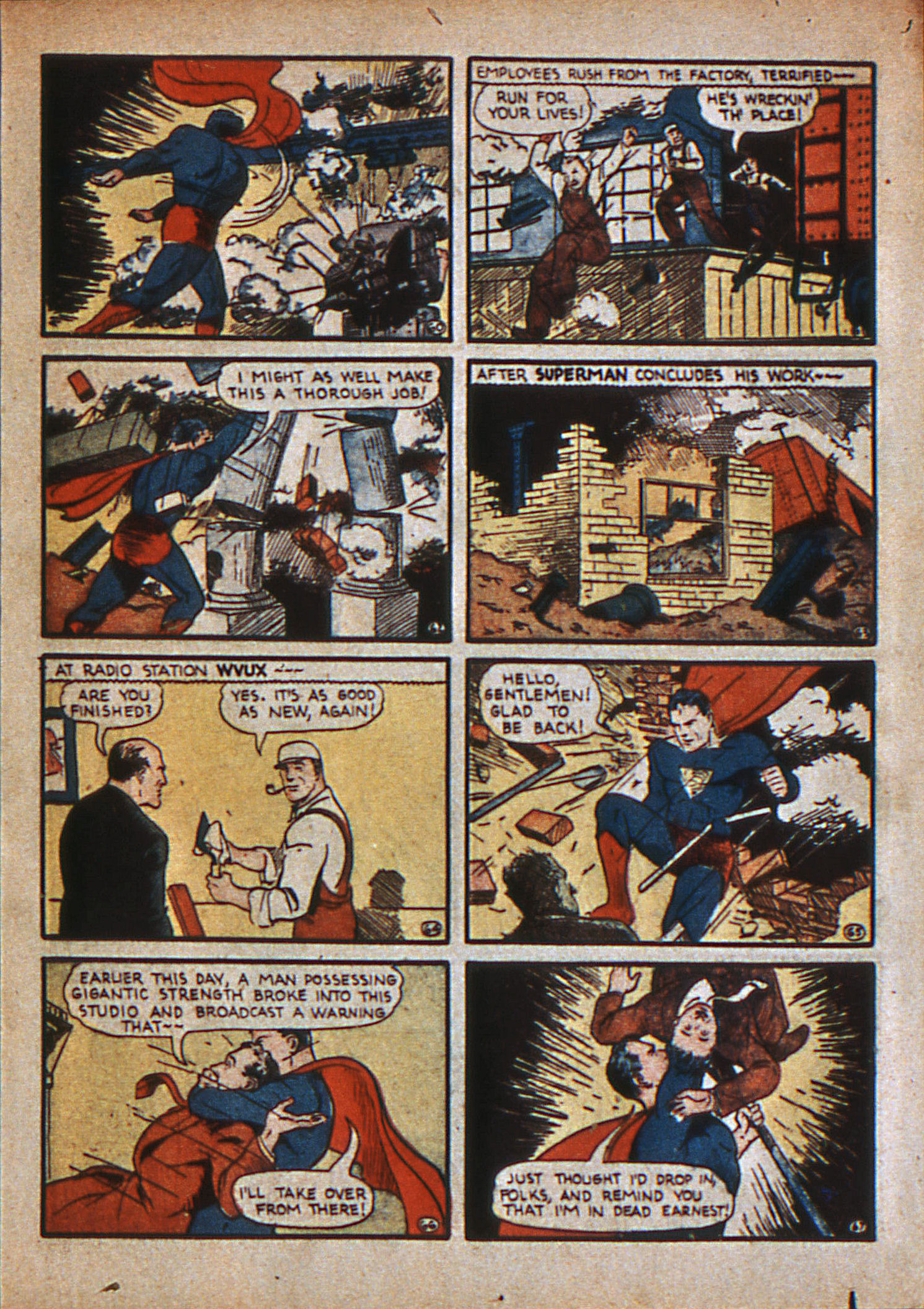 Read online Action Comics (1938) comic -  Issue #12 - 12