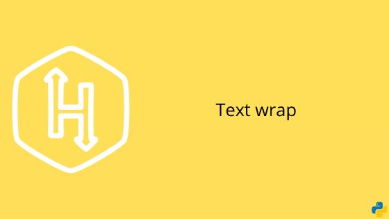 Hackerrank text wrap problem solution in python