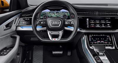 Audi Q8 2019 - Dashboard tech - Review