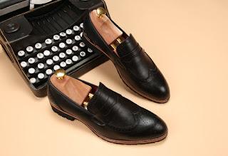 Sepatu Pantofel Pria Model Korea Terbaru Mei 2016
