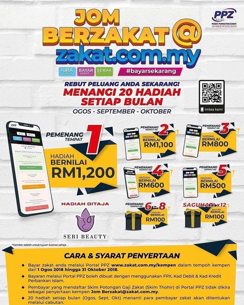 Jom Berzakat @ zakat.com.my