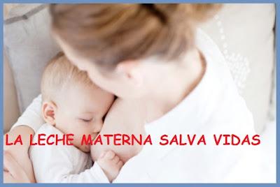 leche materna salva vidas