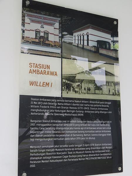 Sejarah Stasiun Ambarawa