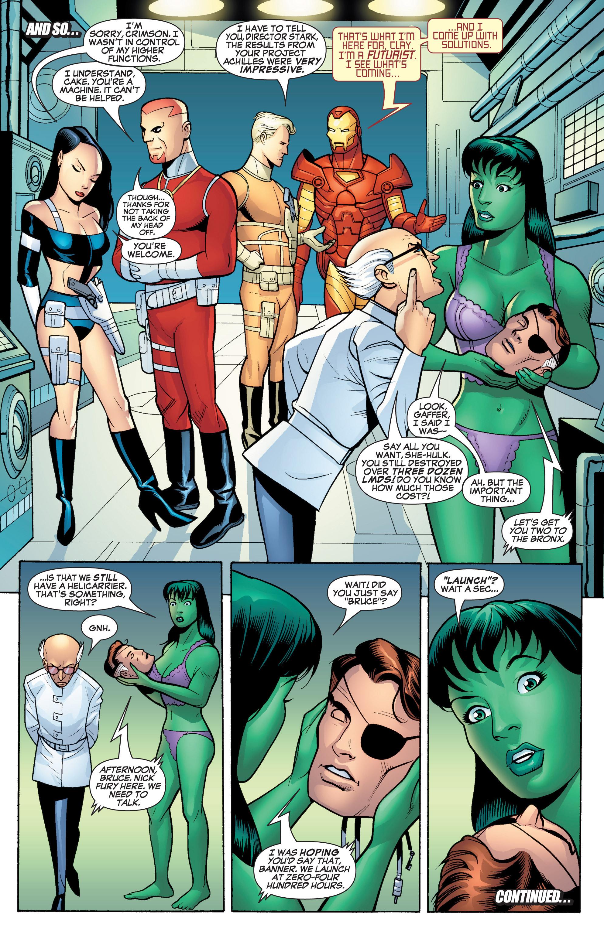 Read online She-Hulk (2005) comic -  Issue #17 - 21
