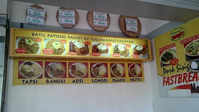 Pancit Batil Patung of Tuguegarao Cagayan